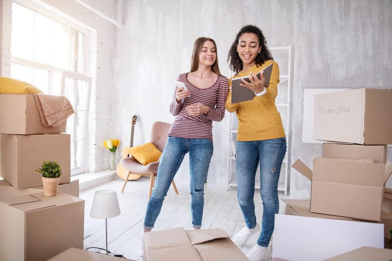 Checklist For Moving on Your First Apartment - Pricing Van Lines