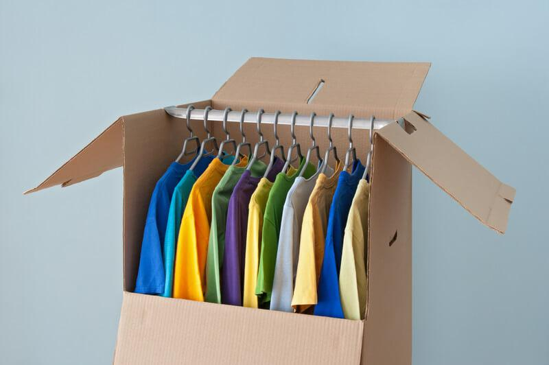 Top 10 Places to Buy Wardrobe Boxes - Pricing Van Lines