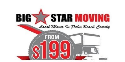 Big Star Moving - Top 10 Trustworthy West Palm Beach Movers 2021's