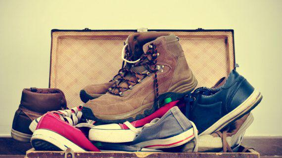 How to Pack Shoes For Moving